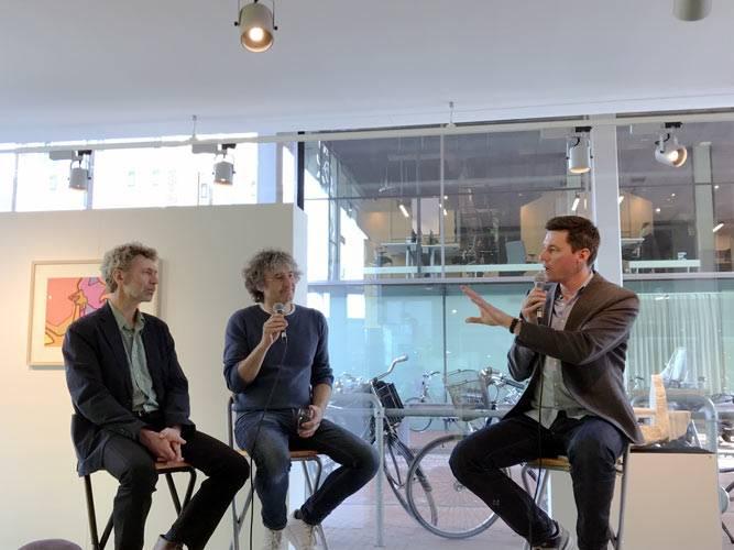 artist talk met Xander Karskens